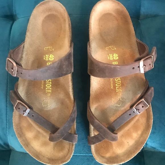 7a5db089a339 Birkenstock Shoes - Birkenstock Mayari Habana Oiled Leather size 40
